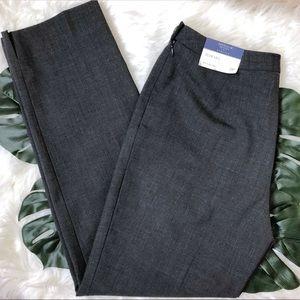 Ann Taylor Petites Stretch Slim Leg Pants - 2P